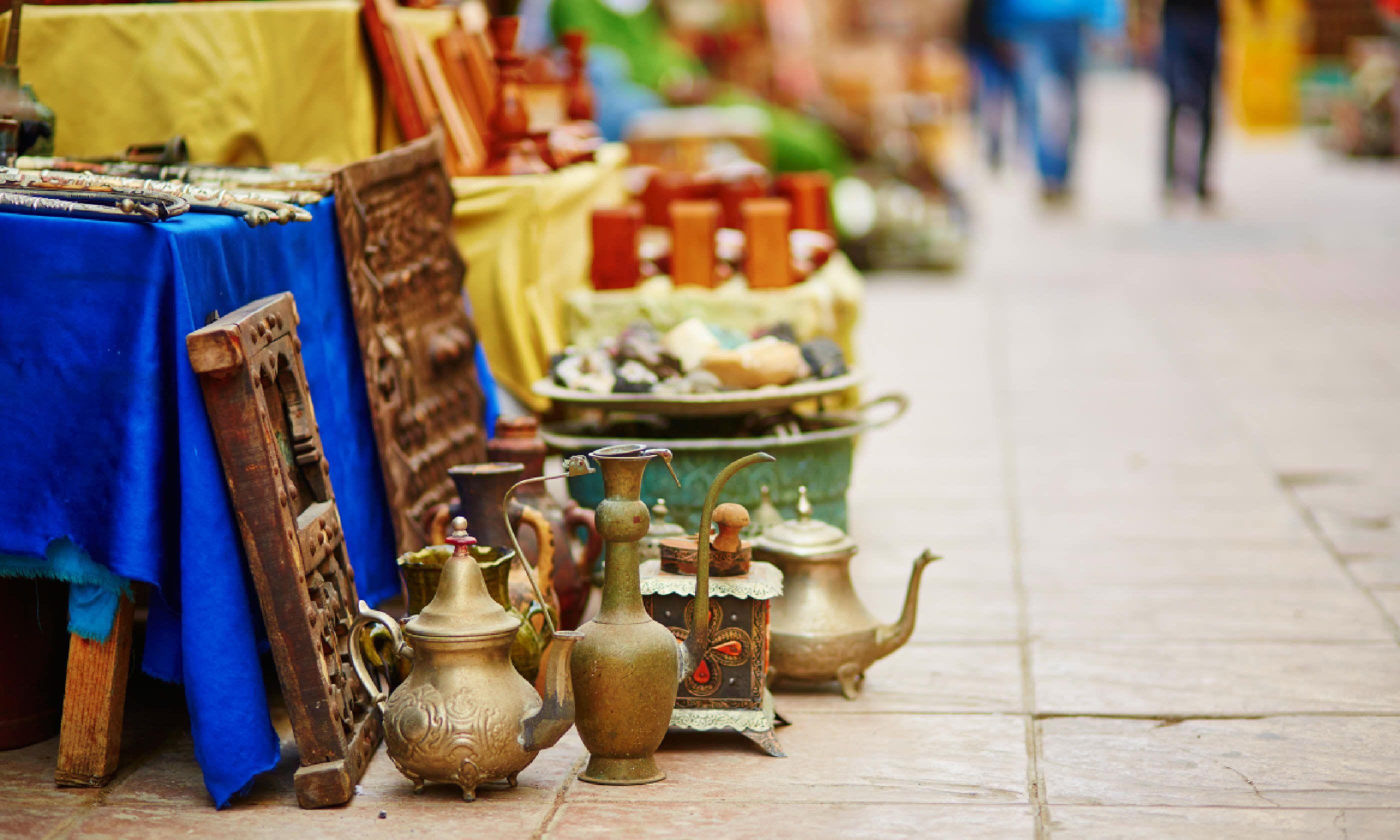 Souk in Essaouira, Morocco (Shutterstock)