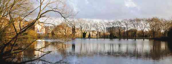Hampstead Heath. The source of the River Fleet (Dreamstime)