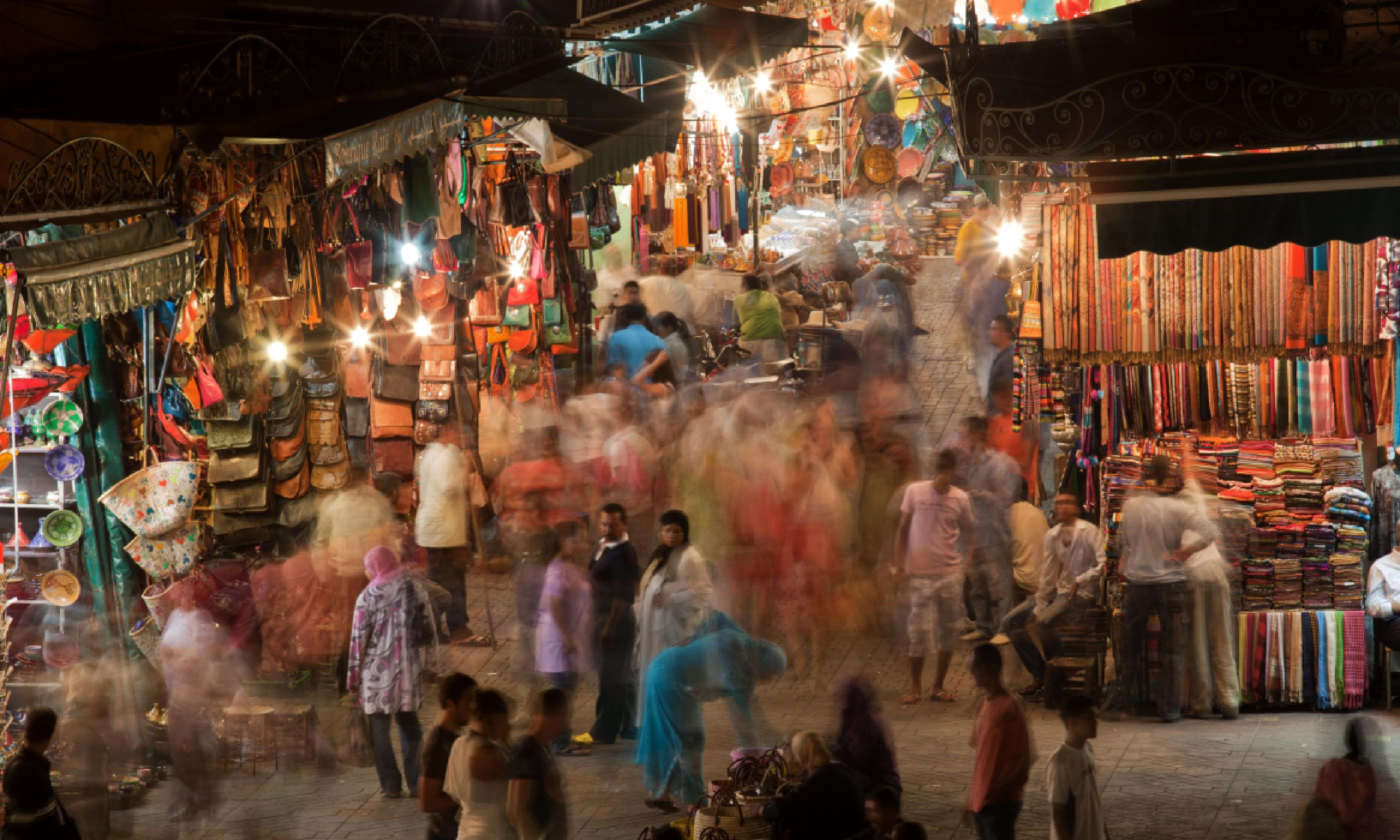 Navigating the souks of Marrakesh (Shutterstock)
