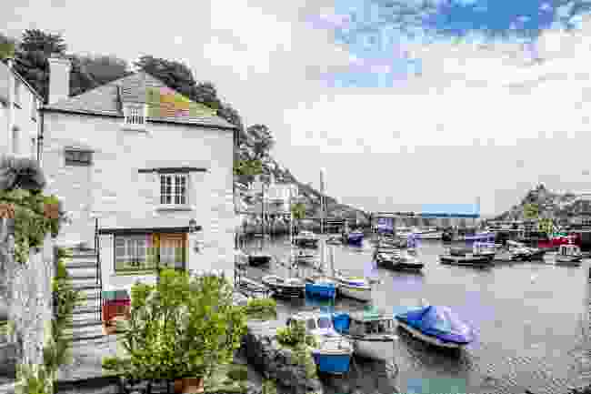 The picturesque Polperro fishing village in Cornwall, UK (Shutterstock)