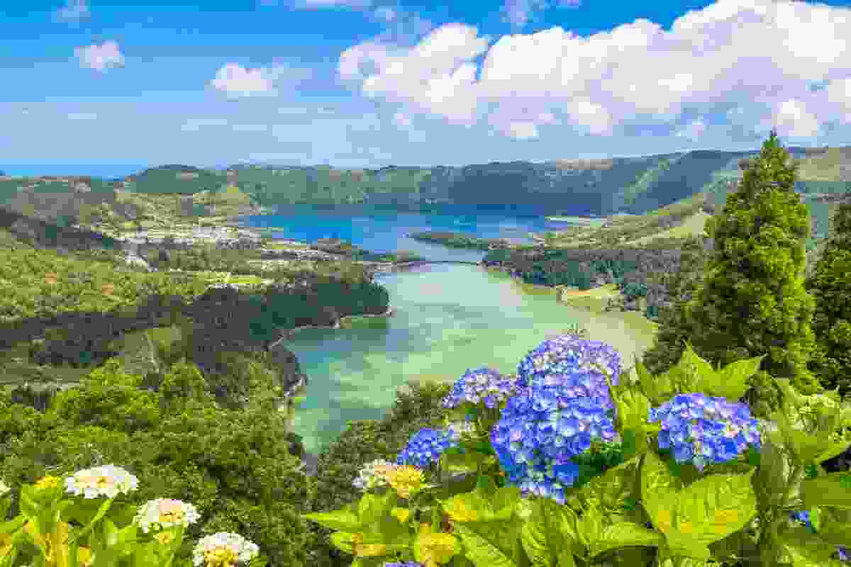 The Azores in summer is so postcard-ready, you'd think it was a painting come to life (Shutterstock)
