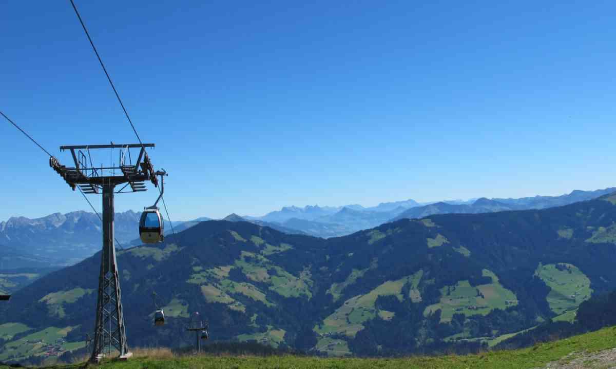 Schatzberg cable car (wildschoenau.com)