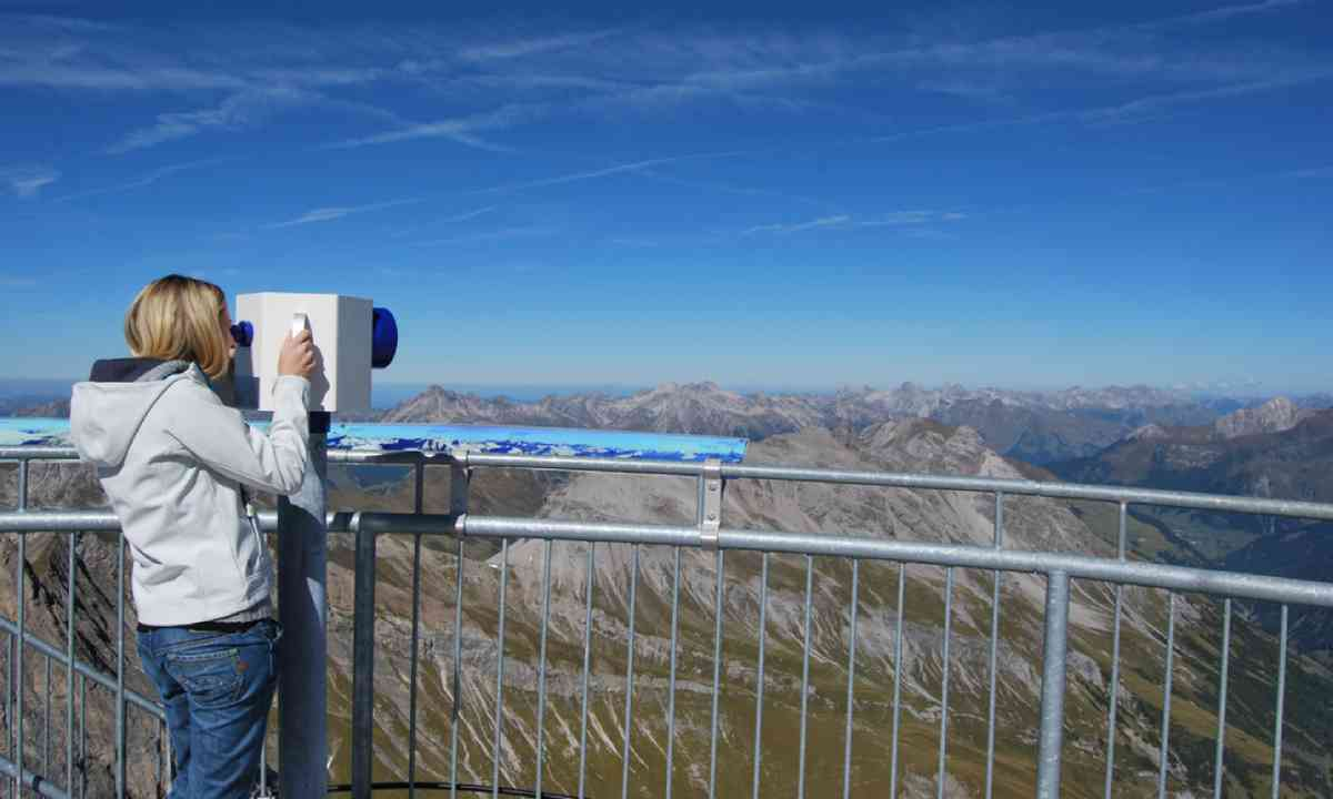 Vallugabahn II viewpoint (skiarlberg.at)