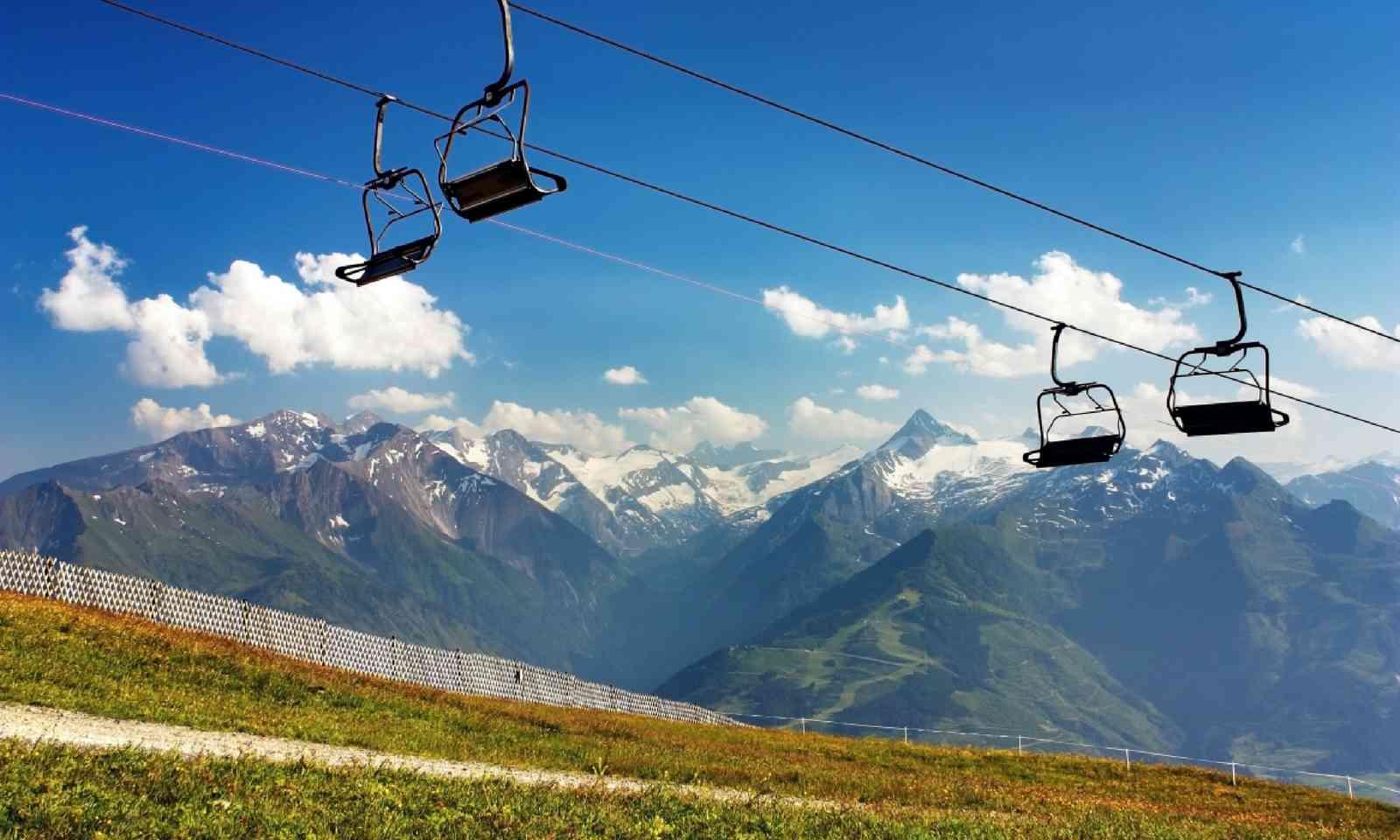 View from Kitzbuheler Alpen (Shutterstock)