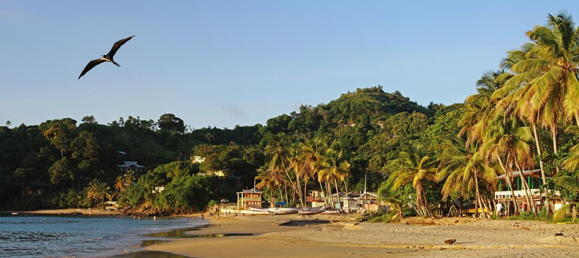 Trinidad and Tobago, Castara beach at sunrise (DrG)