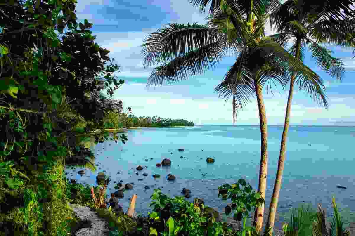 An ocean walk on Fiji's 3rd biggest island (Shutterstock)