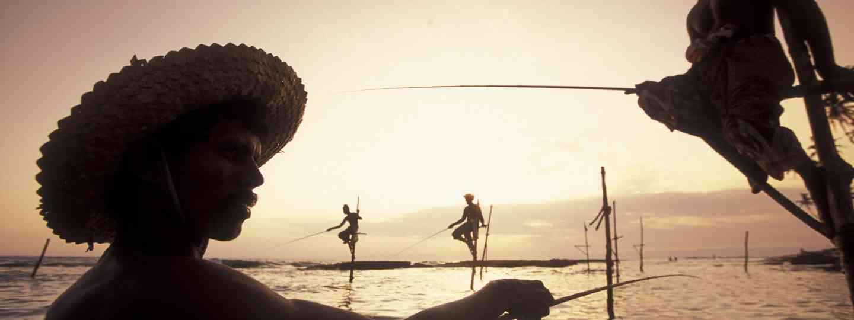 Weligama fishermen, Sri Lanka (Dreamstime)