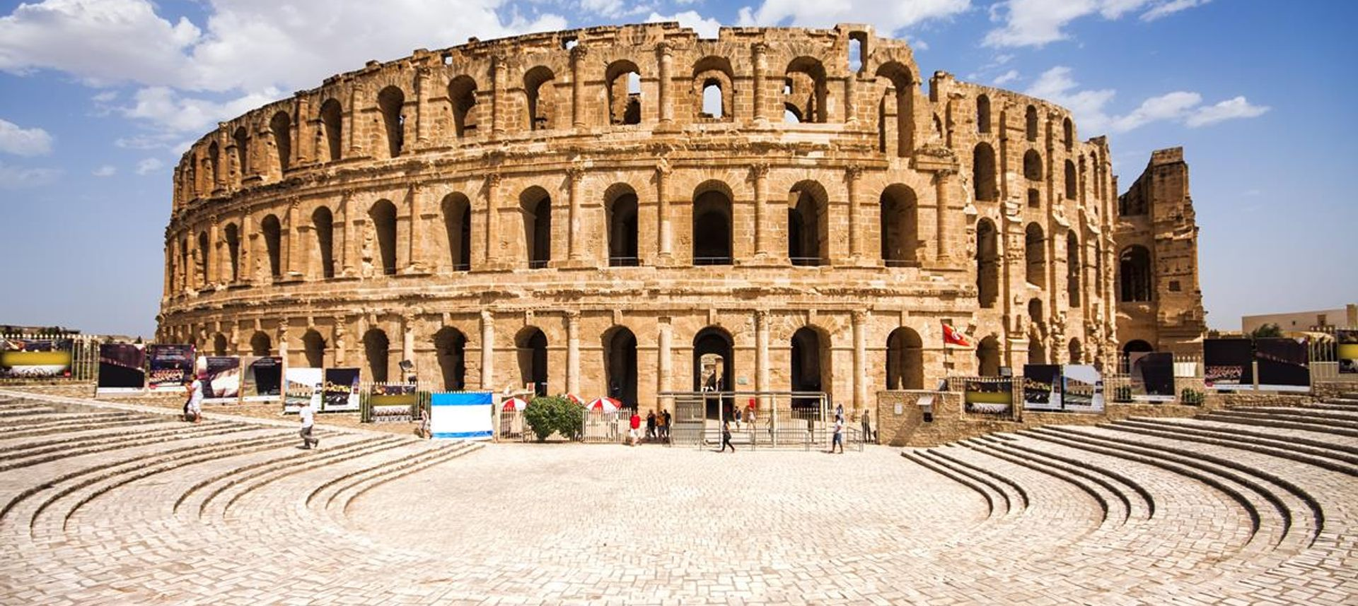 El Jem ruins, Tunisia (Dreamstime)