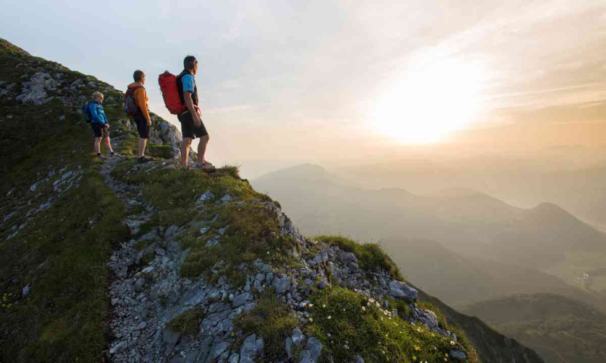 Hiking in Kitzbüheler Alpen
