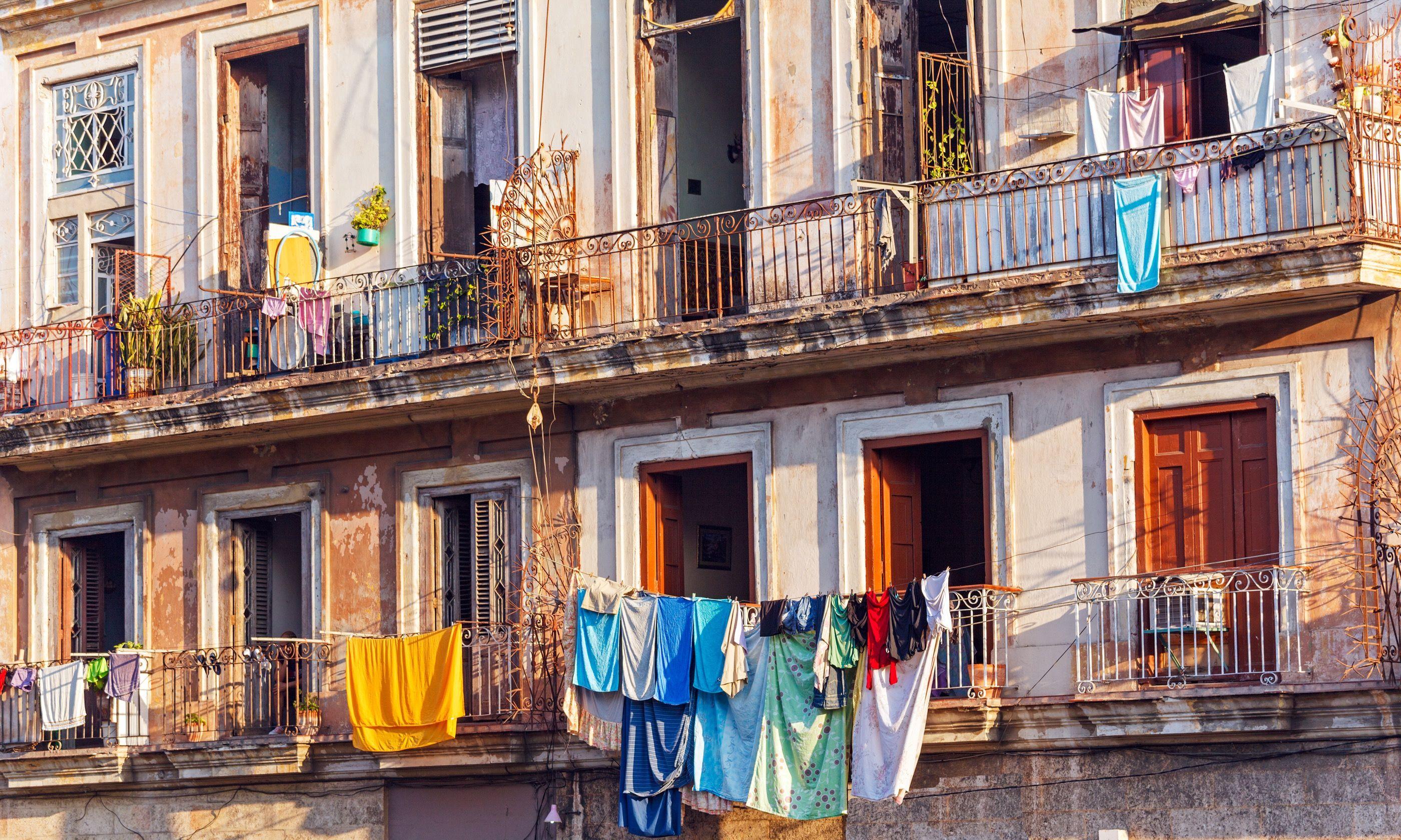 Cuban balconies (Shutterstock.com)
