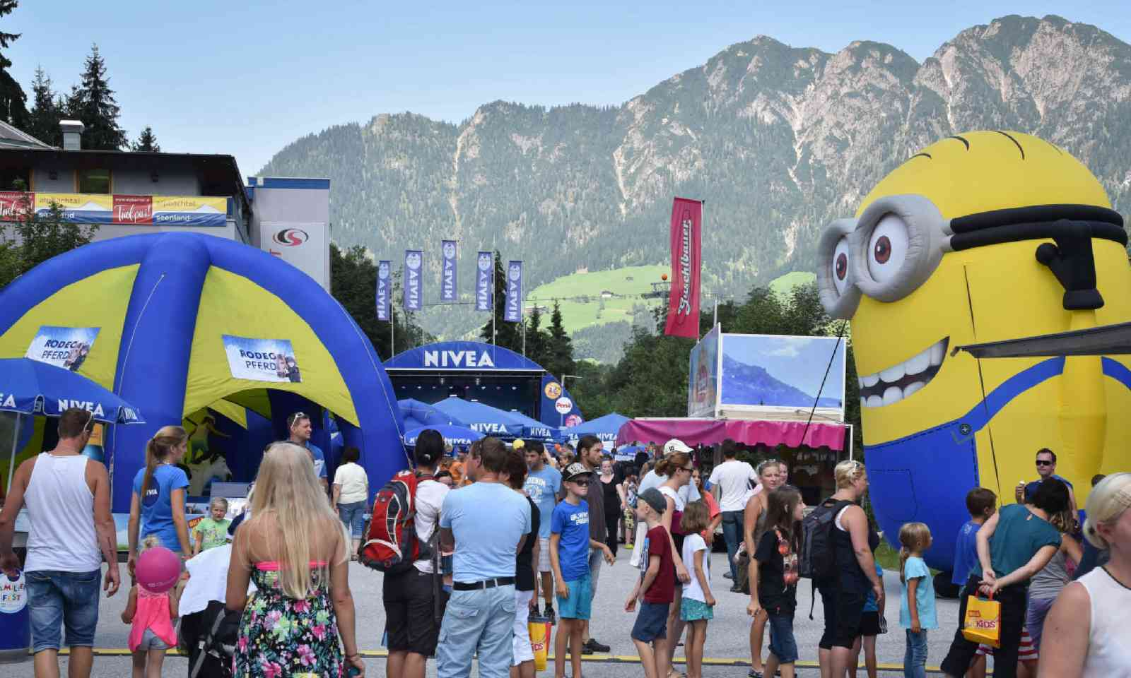 Nivea Familienfest in Alpbach (alpbachtal.at)