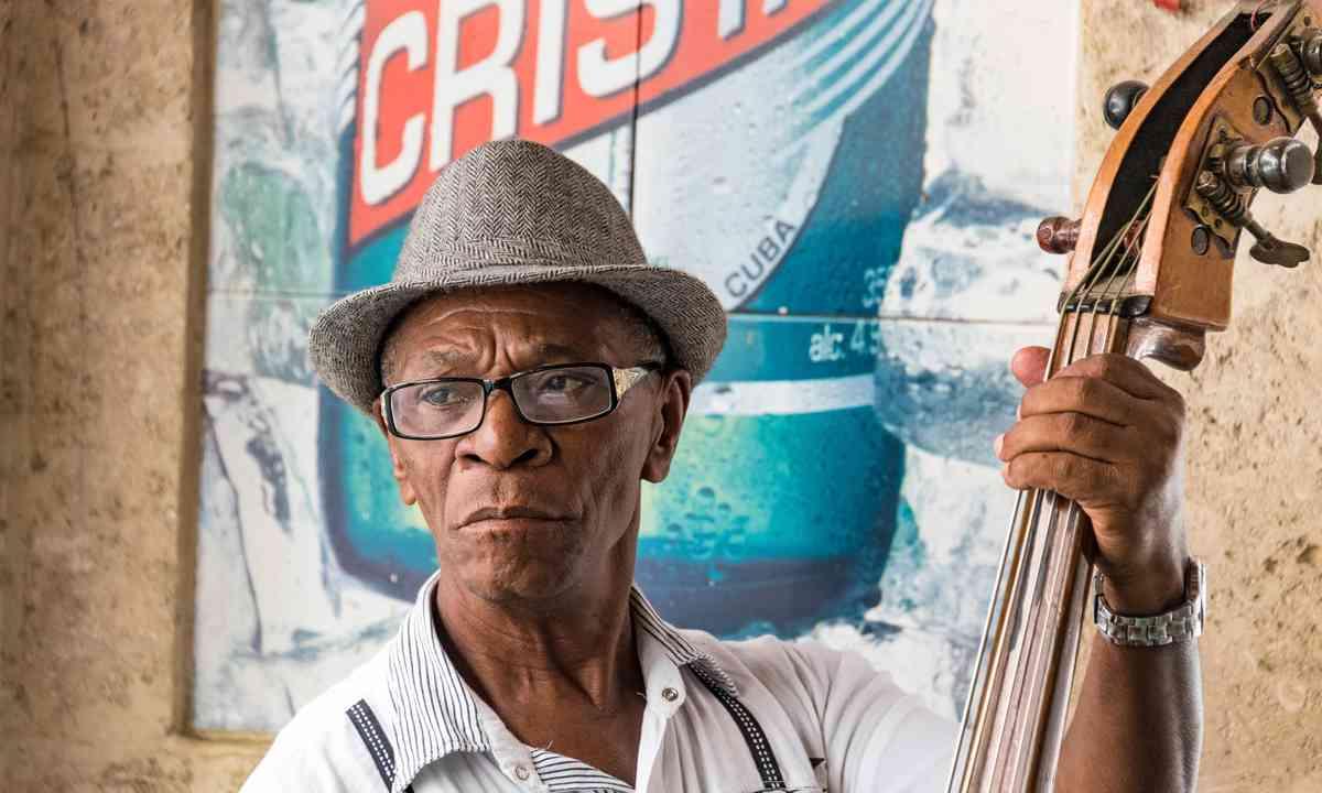 Cuban street musician (Shutterstock.com)
