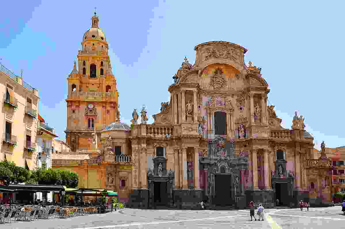 Murcia's stunning cathedral, Spain (Shutterstock)