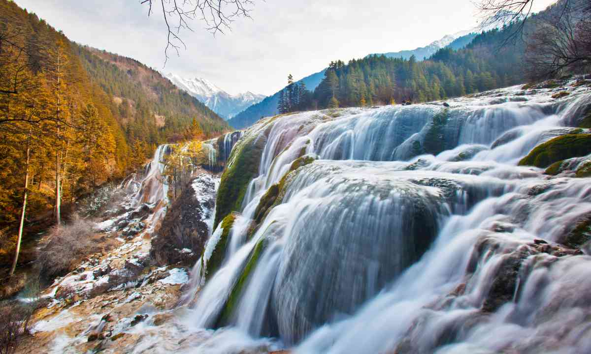 Pearl Shoal Waterfall (Dreamstime)