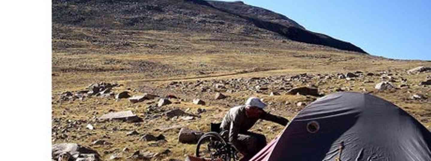 Opportunities for adventure travel for wheelchair users are on the rise (Rick McCharles)