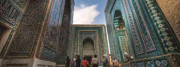 Bukhara's fine Islamic architecture dominates the city (Paul Morrison)