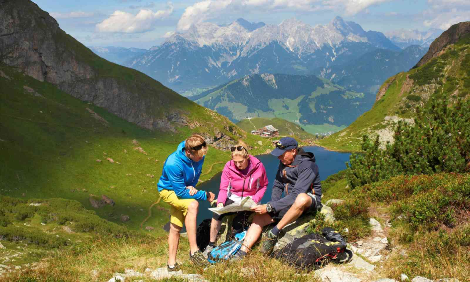 High altitude trekking in Kitzbühel Alpen