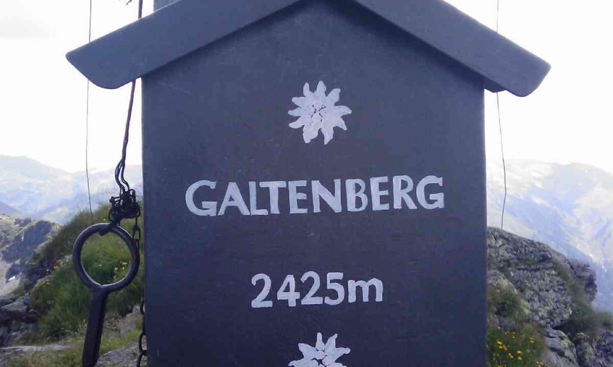 Summit of Großer Galtenberg (alpbachtal.at)