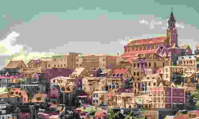 Haute-Ville in Antananarivo (Shutterstock)
