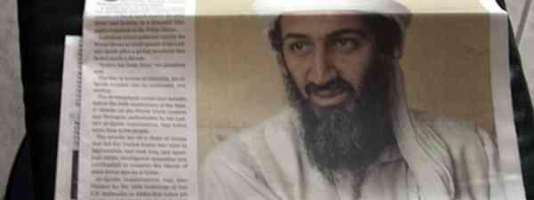 Osama Bin Laden Newspaper (Kolin Toney)