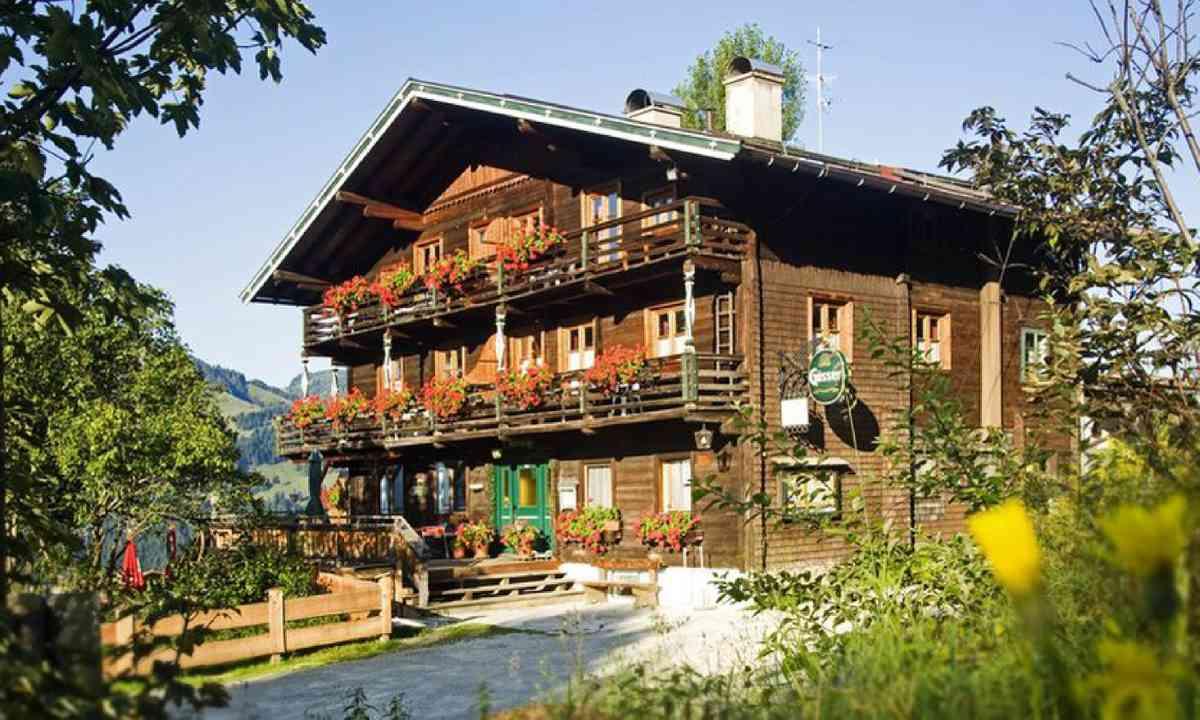 Oberaigen mountain hut (kitzbuehel.com)