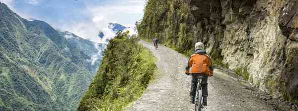 Cycling in Bolivia (Shutterstock)
