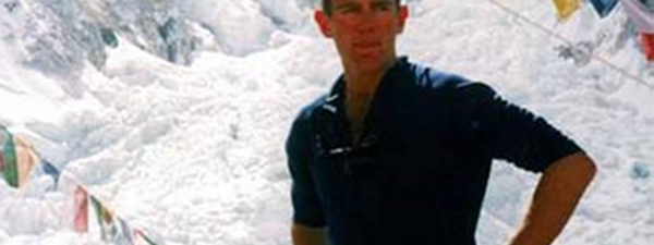Neil Laughton at Everest Base Camp