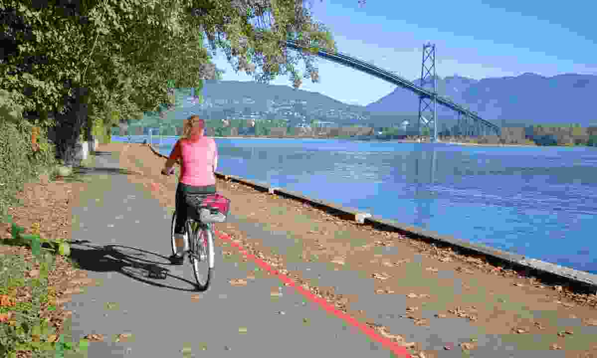 Try a bicycle ride along a section of the 28km-long sea wall (Shutterstock)