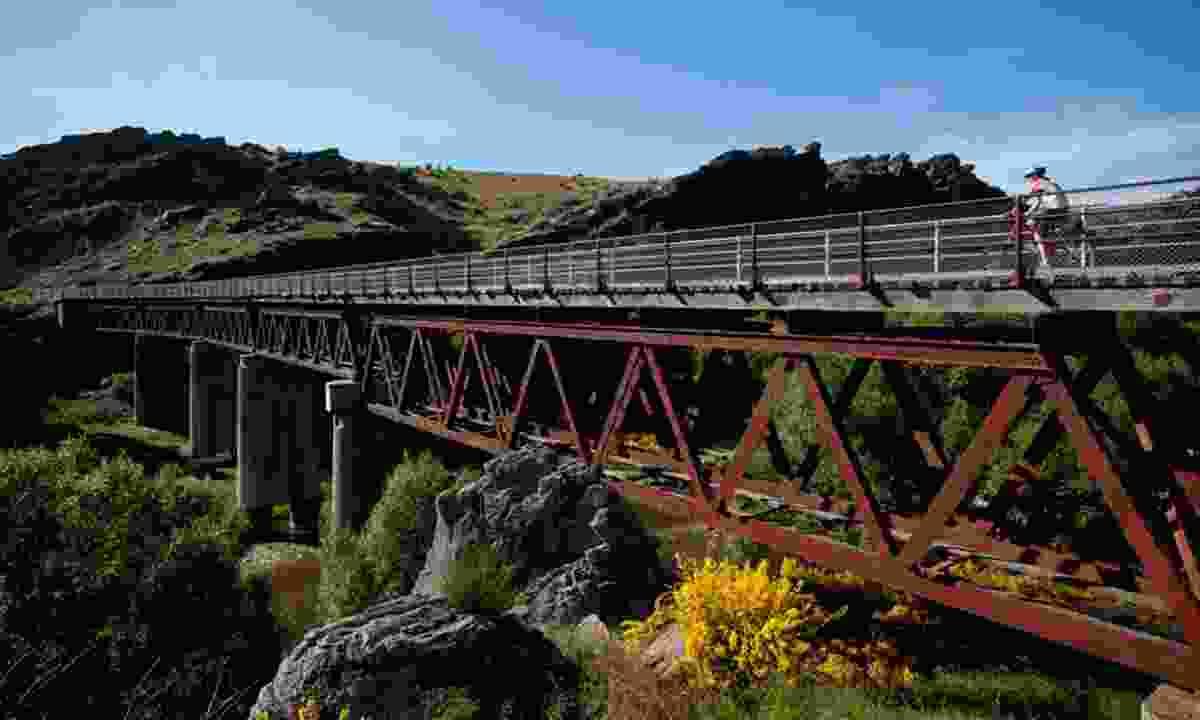 Cycling the Otago Rail Trail (Intrepid)