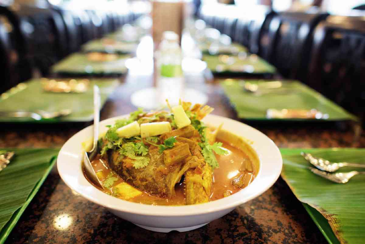 A tempting fish-head curry
