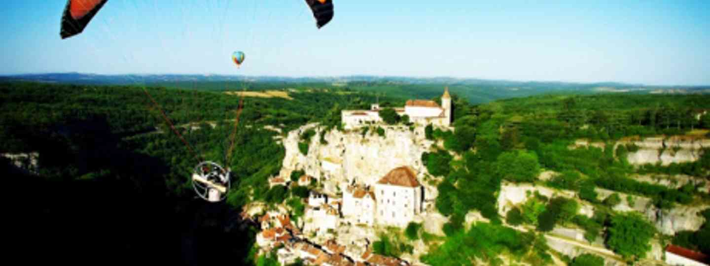 Castle Paramotoring