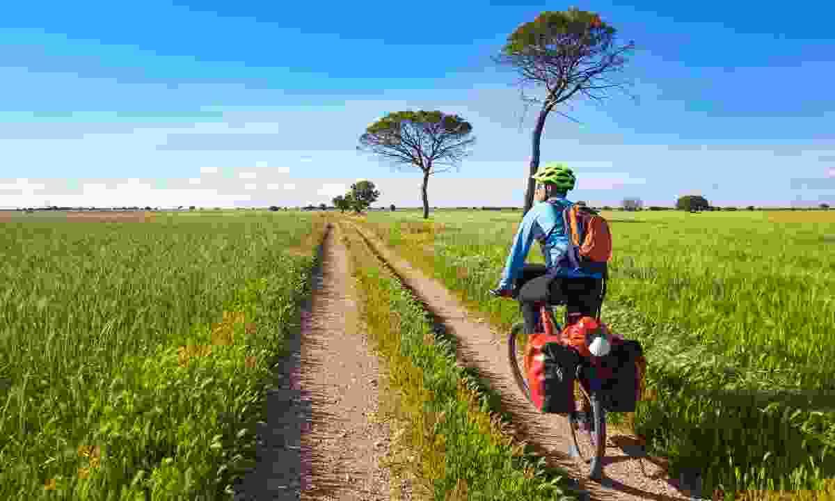 Cycling the Camino de Santiago (Shutterstock)