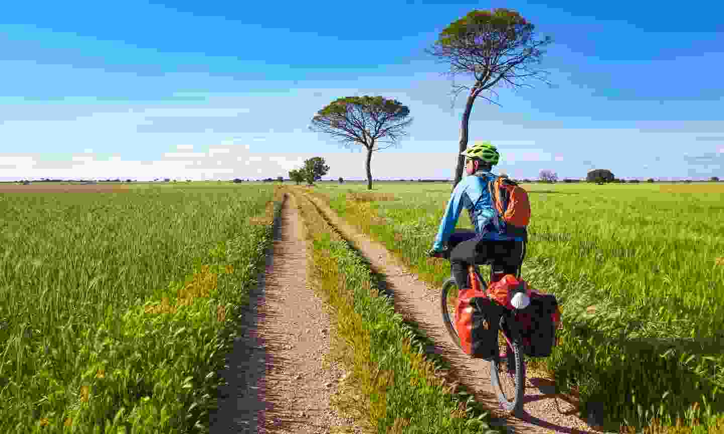Cycling the Camino de Santiago (Shutterstock)