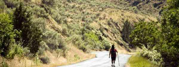 Walking solo (Shutterstock)