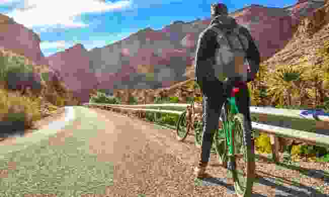Cycling in Morocco (Shutterstock)