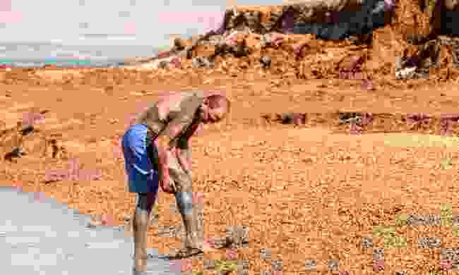 Jordan's mud and water has drawn people here for millenia (Dreamstime)