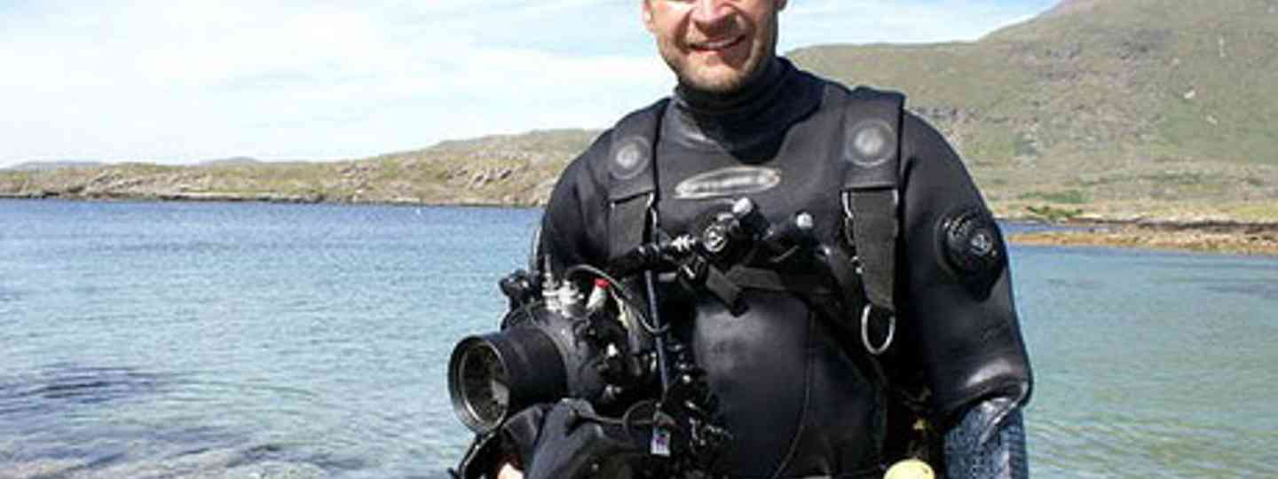Monty Hall in dive gear (Monty Hall)