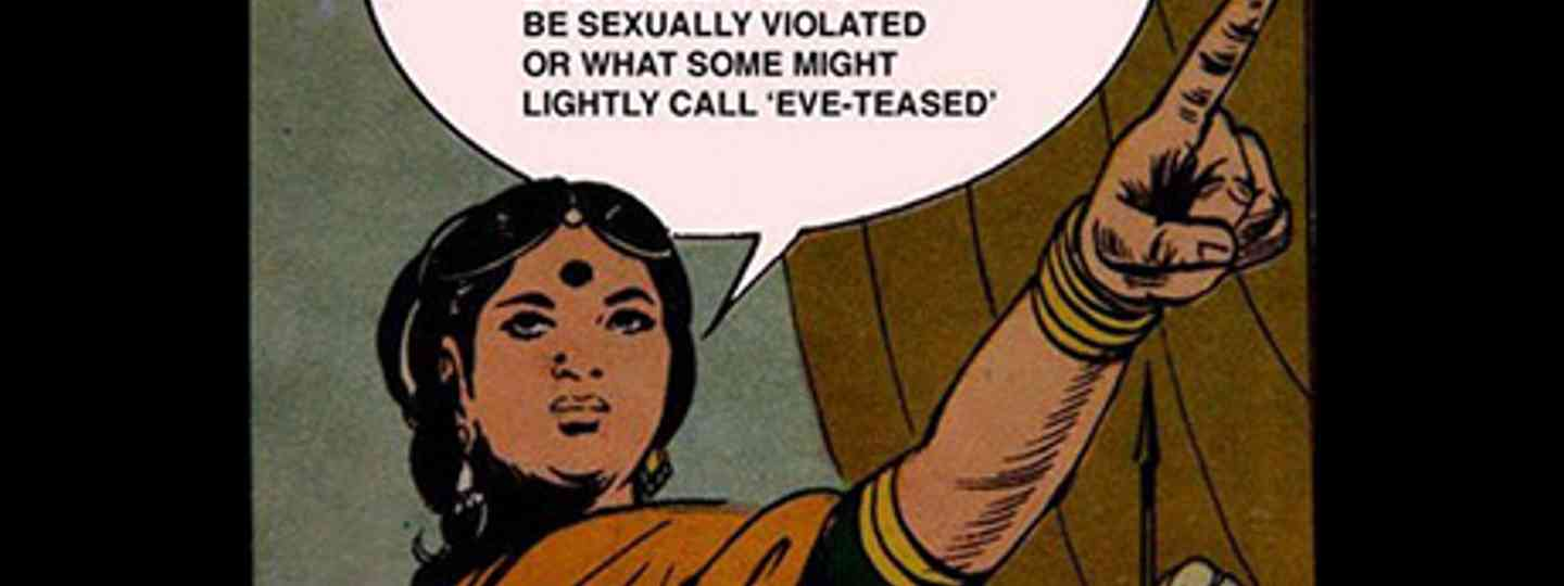 Eve Teasing poster (Sally Howard)