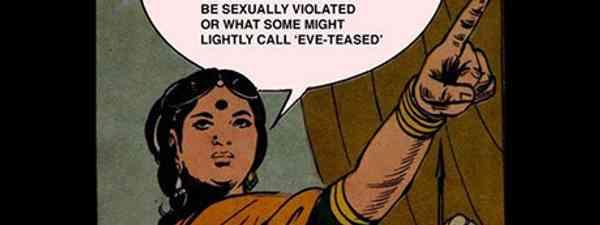 Eve Teasing poster (Sally Howard)