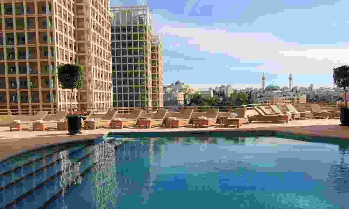 The swimming pool at the Hyatt (Shutterstock)