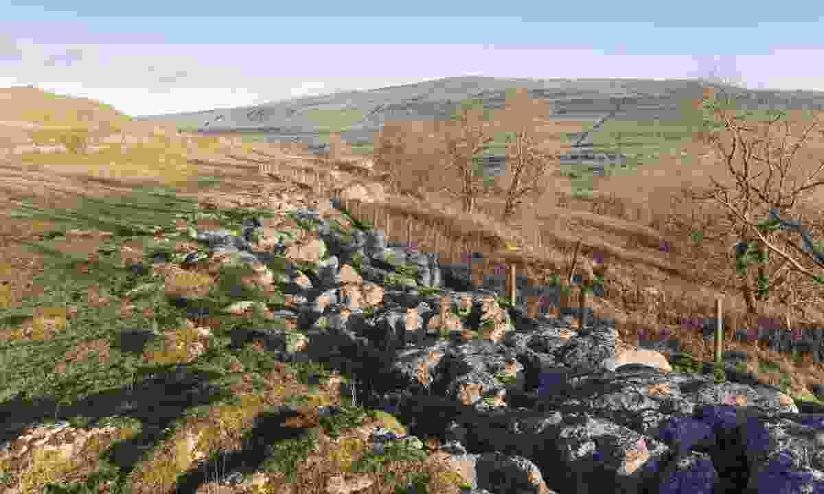 Buckden Pike seen from Upper Wharfedale (Shutterstock)
