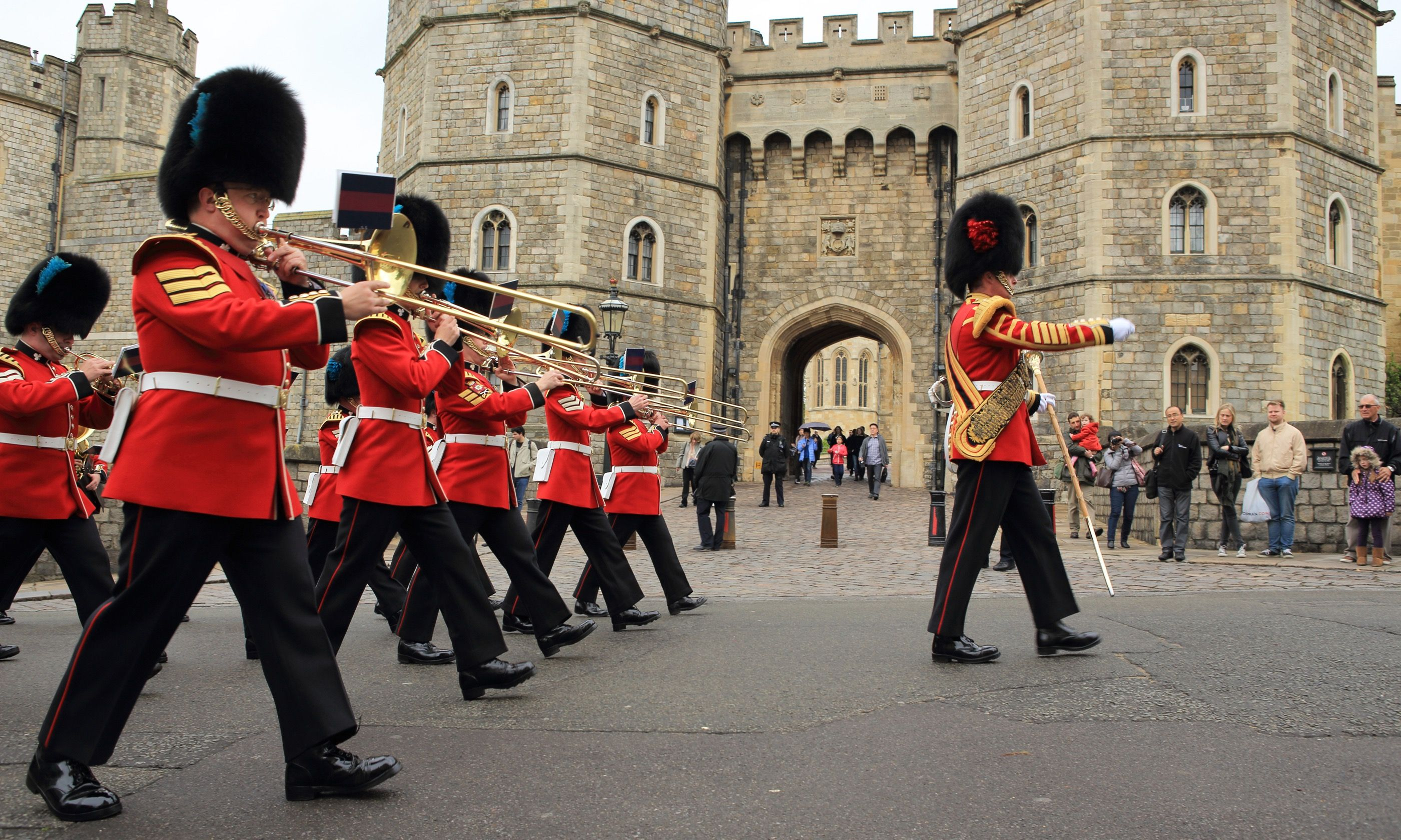 Changing of the Guards at Windsor (Shutterstock.com)