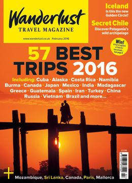 Wanderlust magazine - the perfect magazine for travellers of