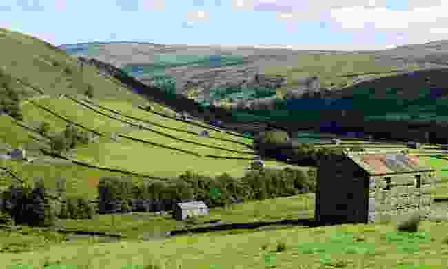 A valley in Swaledale (Shutterstock)