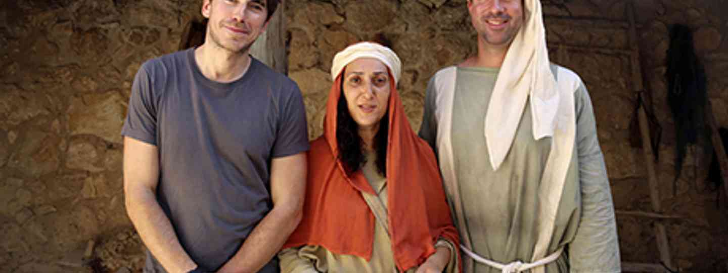Simon meets Mary and Joseph (BBC)
