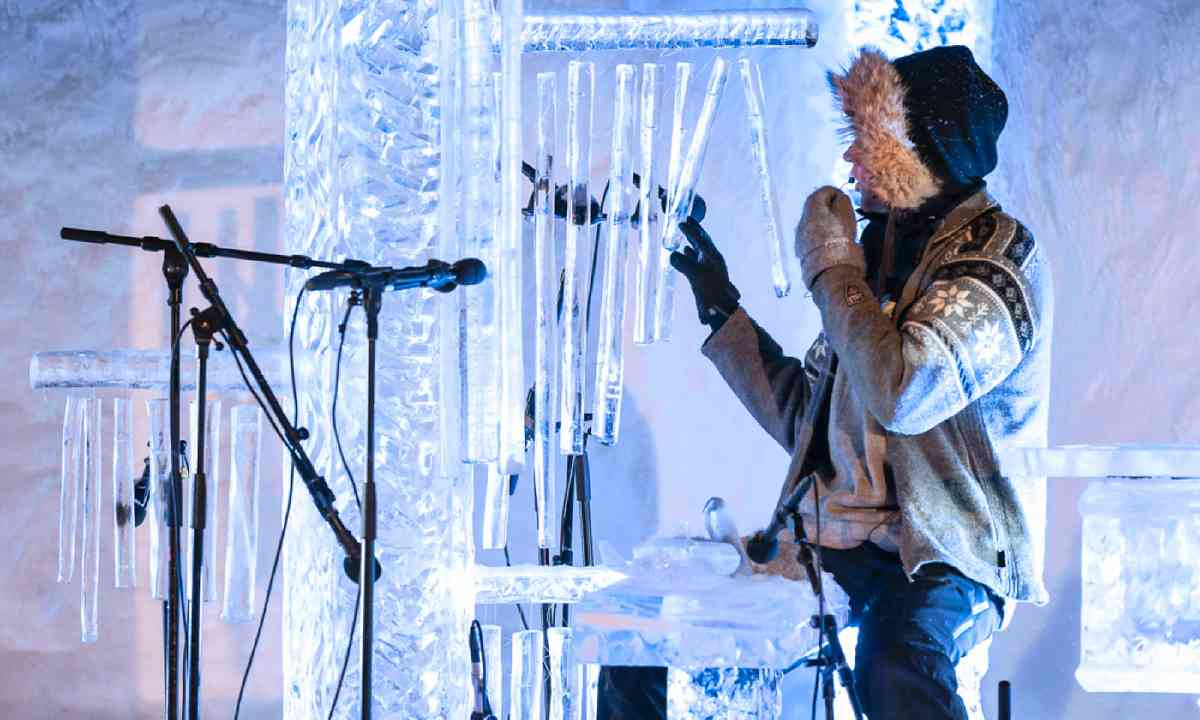 Ice Music Festival (Photo: Emile Holba)