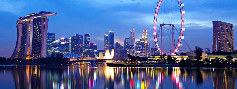 Marina Bay, Singapore (Shutterstock)