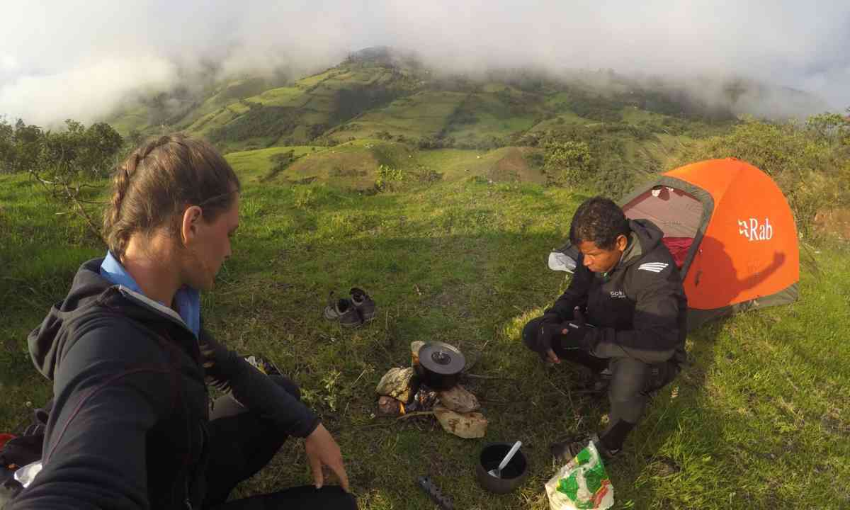 Life without a portable gas stove (Laura Bingham)