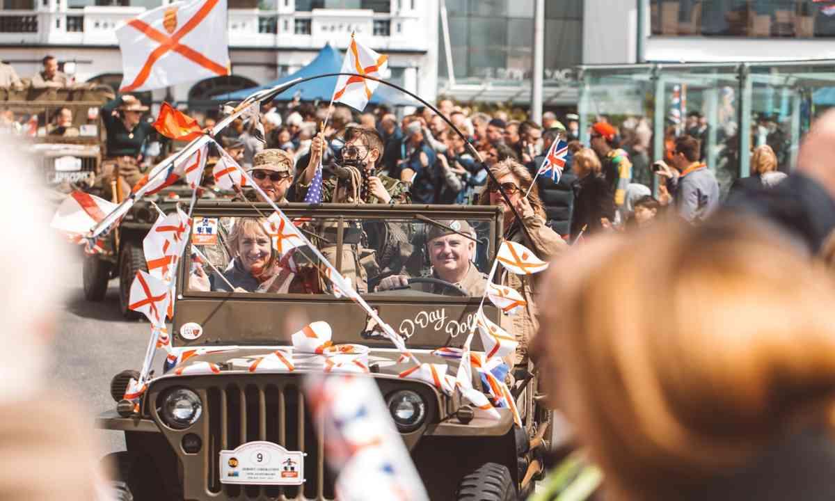Liberation Day celebrations (Jersey.com)
