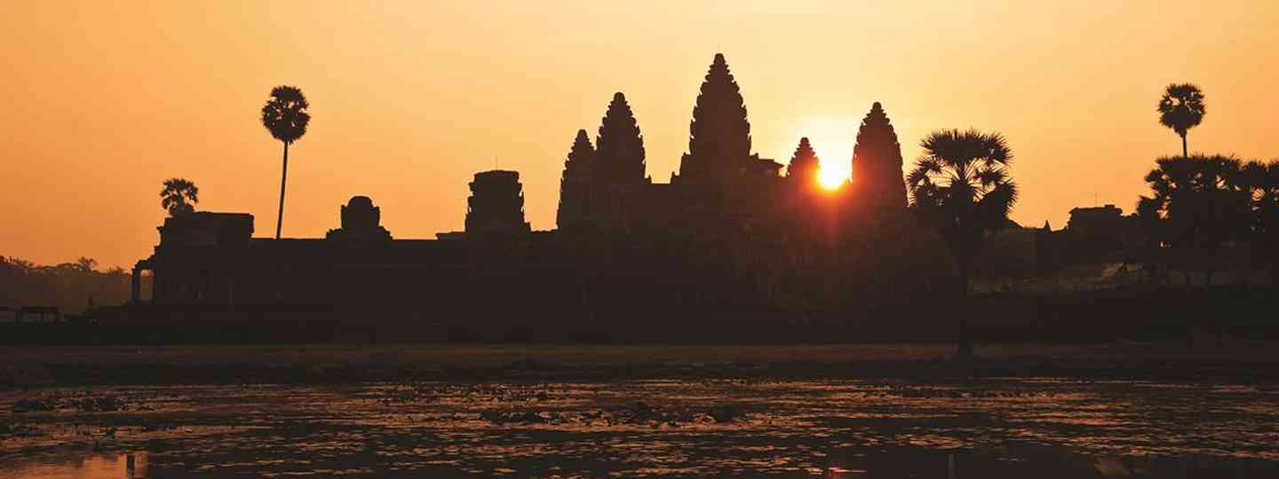Angkor Wat is a temple complex at Angkor, Cambodia, built for the king Suryavarman II in the early 12th century as his state temple and capital city (